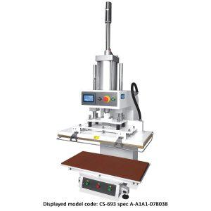 CS-693<br><b>Pneumatic Flat Press Machine</b>