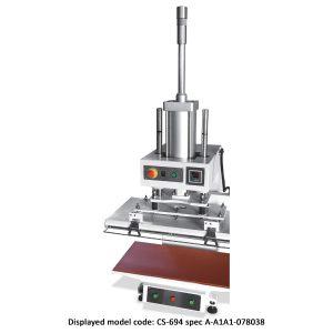 CS-694<br><b>Pneumatic Flat Press Machine</b>