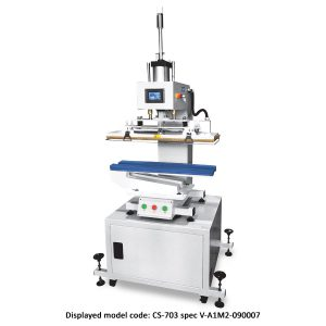 CS-703<br><b>Pneumatic Flat Press Machine</b>