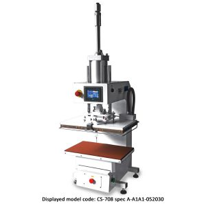 CS-708<br><b>Pneumatic Flat Press Machine</b>