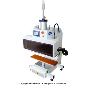 CS-737 <br><b>Pneumatic Flat Cool + Heat Press Machine</b>