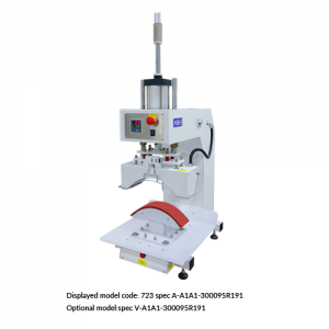 CS-723<br><b>Pneumatic Curve Press Machine</b>