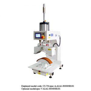 CS-724<br><b>Pneumatic Curve Press Machine</b>