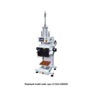 CS-741 <br><b>Pneumatic Flat Cool + Heat Press Machine</b>