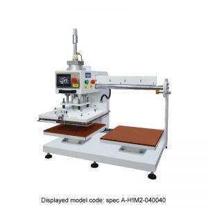 CS-770 <br><b>Automatic Twin Bed Flat Press Machine</b>