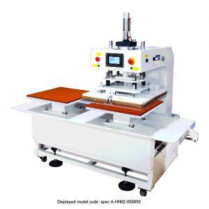 CS-714N<br><b> Automatic Twin Bed Flat Press Machine</b>